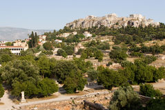 Acropole, Athènes Image stock