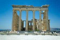 Acropole d'Atenas Grèce Image libre de droits