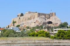 Acropole d'Athènes, Grèce photo stock