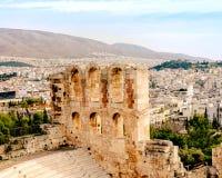 Acropole d'Athènes, monument architectural, attraction touristique photo libre de droits