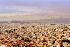 Acropole d'Athènes, monument architectural, attraction touristique photos stock