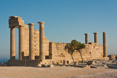 Acropole du grec ancien Photographie stock