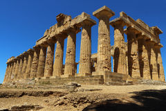 Acropole - temple E Photo stock