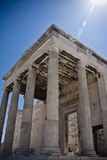 Acropoli, Atene Fotografia Stock