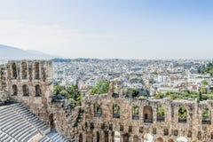 Acropoli, Atene fotografie stock libere da diritti
