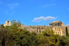 Acropoli, Atene Immagini Stock Libere da Diritti
