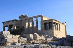 Acropoli a Atene Grecia Fotografie Stock