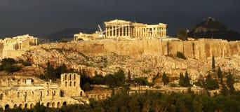 Acropoli di Atena Grecia Immagine Stock Libera da Diritti