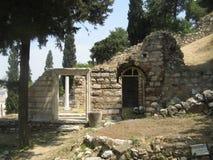 Acropoli di Atene Fotografie Stock