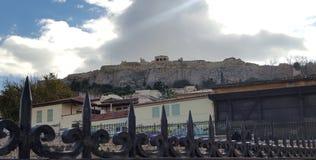 Acropoli di Atene in Grecia fotografie stock