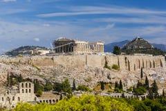 Acropoli di Atene, Grecia Immagine Stock Libera da Diritti