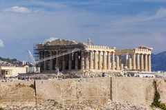 Acropoli di Atene, Grecia Fotografia Stock Libera da Diritti