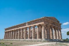 Tempie di Paestum Immagini Stock Libere da Diritti