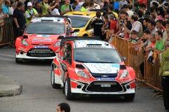 Acropoli di raduno di 2011 WRC Fotografia Stock