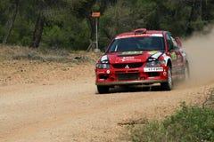 Acropoli di raduno di WRC Fotografie Stock