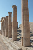 Acropoli Lindos Lizenzfreie Stockfotografie