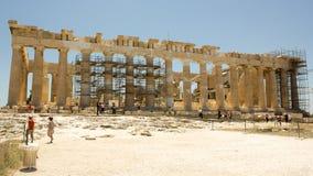 Acropoli Partenon di Atenas Grecia Fotografie Stock Libere da Diritti