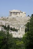 Acropolis. The great ancient monument of AThens, Acropolis Royalty Free Stock Photo