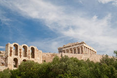 Acropolis. In Athens, Greece, Europe Royalty Free Stock Images