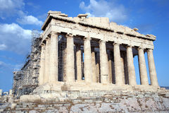 acropolis 4 Royaltyfri Fotografi