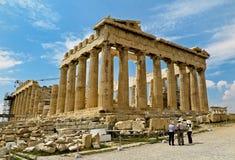 acropolis Arkivfoto