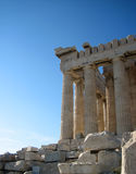 The Acropolis. A stunning view of the Acropolis in Athens Greece Stock Photo