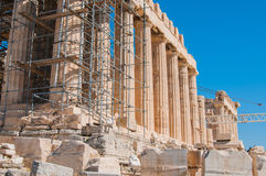 acropolis Royaltyfri Bild