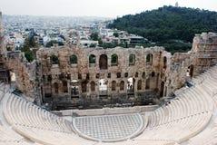 Acropolis Amphitheater Royalty Free Stock Image