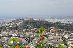 Acropolis, Atenas Foto de Stock Royalty Free