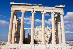 Acropolis of Atheens Royalty Free Stock Photography