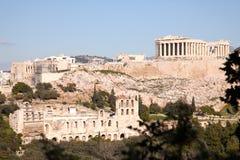 Acropolis Athens. The Parthenon in Athens Greece stock image
