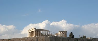 Acropolis in Athens Stock Photography