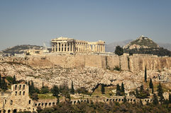 Acropolis, Athens Royalty Free Stock Images