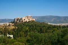 acropolis athens Arkivbild