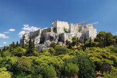 The Acropolis in Athens Royalty Free Stock Photography