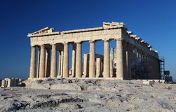 The Acropolis in Athens Royalty Free Stock Photos