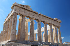 The Acropolis in Athens Stock Photo