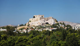 The Acropolis in Athens Stock Images