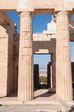 The Acropolis in Athens Royalty Free Stock Images