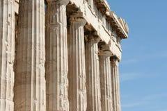 Acropolis, Athens. Acropolis temples in Athens, Greece Royalty Free Stock Photos