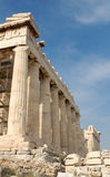 Acropolis in Athens Stock Image