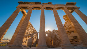 The Acropolis, Athens. Acropolis Acropolis, is Greece`s most outstanding ancient buildings, is a comprehensive public buildings, the center of religious politics royalty free stock photos