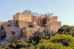 The Acropolis of Athens Royalty Free Stock Photo