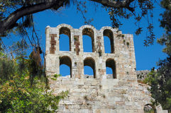 Acropolis of Athens Royalty Free Stock Images