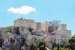 Acropolis of Athens Royalty Free Stock Photo