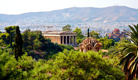 Acropolis of Athens Royalty Free Stock Photography