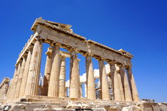 Acropolis in Athens Stock Photo