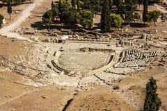 Acropolis of athens. Acropolis ancient theater of athens art architecture Stock Image