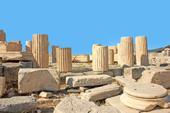 Acropolis of athens Stock Images