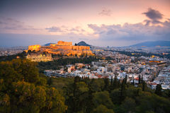 Acropolis, Athens. Stock Photos